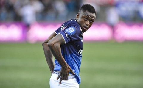 FERDIG: Muhamed Keita skal ikke spille mer for New York-klubben. Hva fremtiden bringer for drammenseren er foreløpig ikke kjent.
