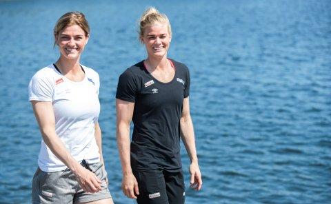 Søstrene Jeanett Kristiansen og Veronica Kristiansen møtes til returmøte i Kristiansand 9. mars.