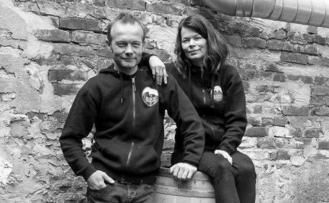 TREDJE GONG GJELD DET: Espen Lothe og Ann-Magritt Banne er klar for si tredje finale i Det Norske Måltid. Kan dei feire siger fredag?