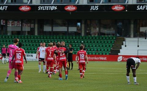 Bjørn Johansen og FFK tok en bunsolid triumf over Sogndal på Fosshaugane onsdag kveld.