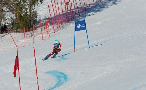 Melissa Karlsen mistet NNM-gullet i alpint etter å ha blitt disket(Foto: Vidar Karlsen)