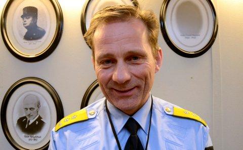 Nye politimesteren i Innlandet, Johan Brekke.  *** Local Caption *** Nye politimesteren i Innlandet, Johan Brekke.