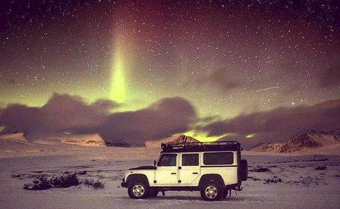4. MAGISK: Nordlys over Rondane. Foto: Alf M Nårstad