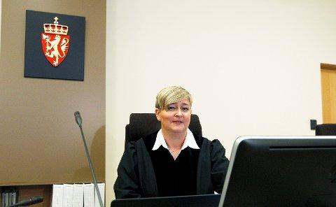 DOMMER: Signe Marie Lundegård er dommer i saken mot de tiltalte i SOS Rasisme.