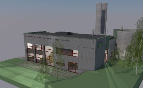 FASADE SØR: 250 nye kvadratmeter skal på plass.