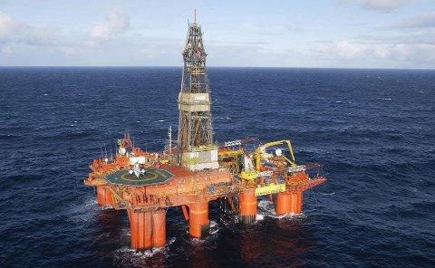 Deepsea Bergen måtte avslutte på Mim, sør for Norne, før boringene hadde nådd alle mål.