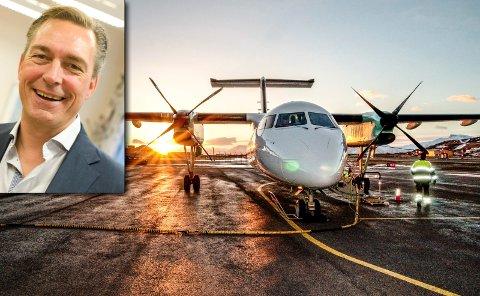 BEDRIFTSEIER: Frank Bakke-Jensen eier Båtsfjord Reiseservice, som løser oppdrag for Widerøe. Selskapet økte overskuddet markant fra 2016 til 2017.