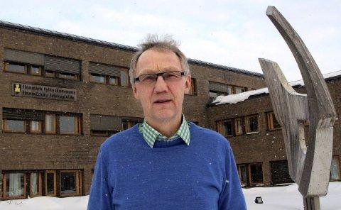 BLIR NESTLEDER IGJEN: Geir Ove Bakken fra Alta går tilbake til å være nestleder i Arbeiderpartiets gruppestyre på fylket.