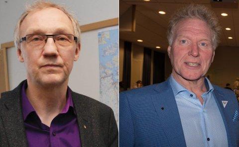 REAGERER: Johnny Ingebrigtsen er kritisk til at Geir Ove Bakken omtalte han som lokalpolitiker i fylkestinget. – Jeg lever godt med at han føler seg litt støtt, sier Bakken.