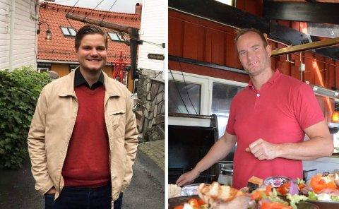 VIL HA EGEN ORDNING: Stortingskandidat Tobias Drevland Lund (t.v.) og Henning Taraldlien ved Verven reagerer på måten utelivsbransjen blir behandlet.