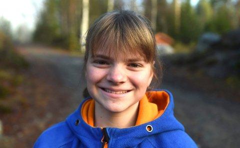 SUVEREN: Inga Marie Hanserud, Jondalen, skjøt 35 fulltteffere og vant eldre rekruttklassen som hun ville.