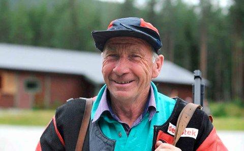 VIKEN 1-MESTER: Hans Erik Rua, Jondalen, vant veteran 73-klassen.