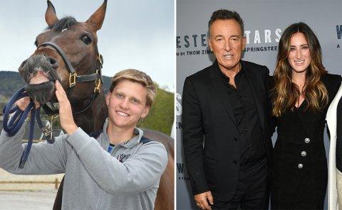 På samme lag: Liungen Johan Sebastian Gulliksen skal ri på lag med Jessica Springsteen, dattera til rockelegenden Bruce Springsteen.
