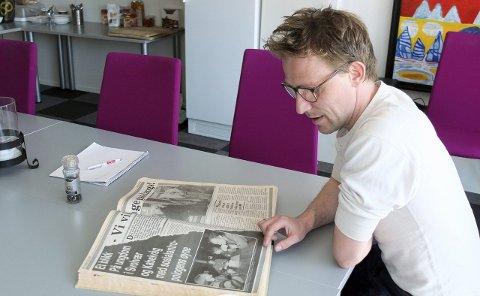 Martin Jensen: Han var en av ungdommene i Kabelvåg og Svolvær som var gjenstand for feltstudier i forbindelse med en hovedoppgave i sosialantropologi.Foto: Hugo Johansen