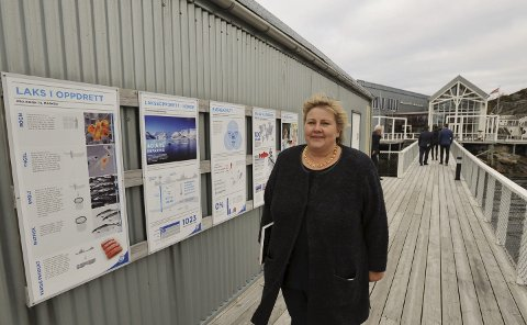 BESØKER LOFOTEN: Fredag besøker statsminister Erna Solberg Vågan og Vestvågøy.