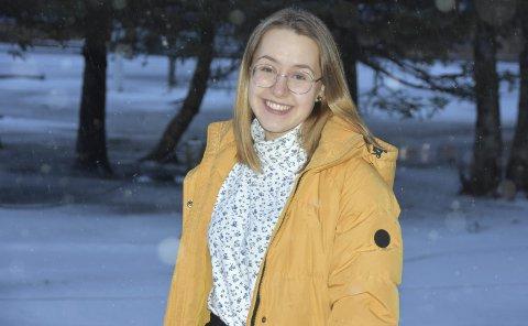 Avbrutt utveksling: Koronapandemien satte en stopper for tilværelsen som utvekslingsstudent i USA, for henningsværjenta Anna Larsen. Foto: Eirik eidissen