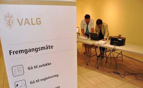 Sender påminner: Før valgdagen 13. september får alle stemmeberettigede i Norge en sms fra staten med en påminnelse om å bruke stemmeretten.