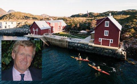 På Kjeøya på Ballstad skal Knut Halvor Hansen drive med utleie.