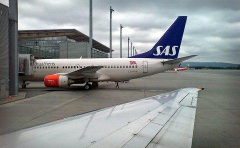 Stiger: Flytrafikken i Norge bare øker.