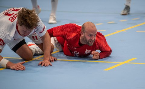 TAP: Anders Morken og resten av Rørviks håndballherrer gikk på sesongens første tap borte mot Elverum 2 lørdag.