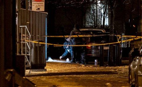 SKYTEEPISODE: En mann ble skutt i Trondheim i desember. Foto: Ned Alley / NTB scanpix