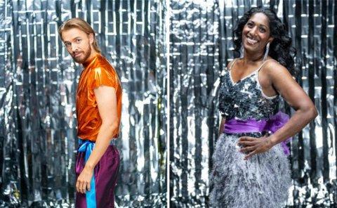 Joakim Kleven fra Lambertseter og Siri N. Avlesen-Østli fra Ekeberg gleder seg til å være med i årets Skal vi danse.