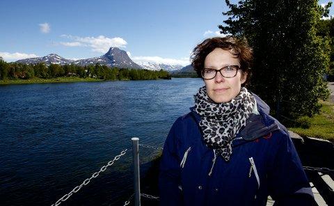 Siv Elin Hansen (SV) vil ha et villakssenter i Nordreisa. Foto: Ola Solvang