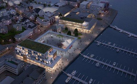 BYGGEPLANER: UiT har kjøpt det gamle Ullageret og transformatorstasjonen i Havnegata 8 av Harstad kommune, og er et steg videre i planene, skriver universitet på sin egen nettside.