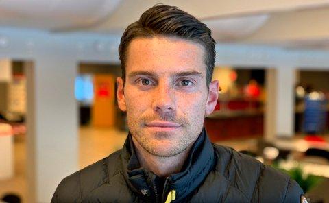 KAPTEIN: Simen Wangberg mener alle må kunne være seg selv også i en fotballgarderobe, uavhengig av legning. Nettopp det forteller han ble diskutert i TIL-garderoben mandag, etter søndagens «soper»-utsagn fra Kristiansunds Flamur Kastrati.