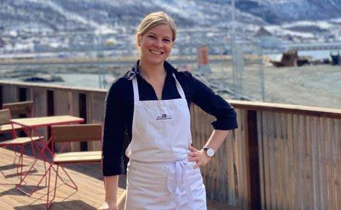 NY JOBB: Trine Eilertsen er den nye restaurantsjefen på Maskinverkstedet i Tromsø, samtidig som hun er permittert fra jobben på The Edge.