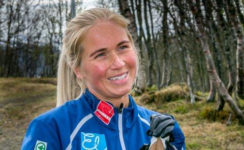Silje Theodorsen gikk til topps i lørdagens renn i Norgescupen. Foto: Torgrim Rath Olsen