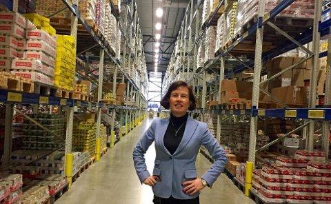 ØKER: Grete Ovanger, administrerende direktør i Asko Nord AS
