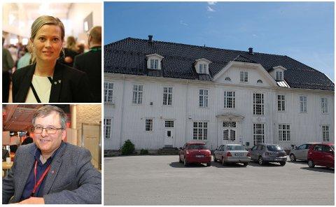 Utvalgsleder for kultur, eiendom og teknisk drift, Kjersti Bjørnstad, hevdet at Hunn-bygningen ikke tilfredsstiller lovpålagte krav til brannsikkerhet og rømning. Det er ikke riktig.