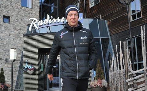 KORONASMITTET: Stian Berg fra Elverum har testet positivt på korona etter at han kom hjem fra Ski Classics-renn i Italia.