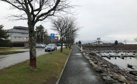 VIL INNFØRE AVGIFT: – Avgiftsparkering vil være den beste måten å styre parkeringen i området på, mener rådmann Magnus Mathisen.