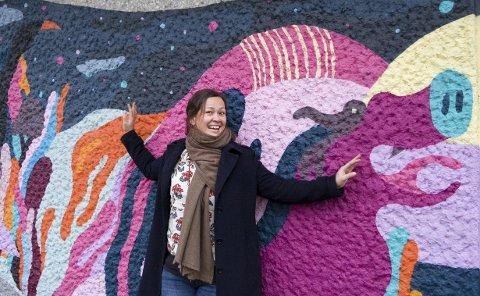 Samarbeid: – En av oppgavene mine blir å få til et kulturelt samarbeid mellom studentene på NMBU og Ås-befolkningen, sier kultursjef Camilla Sæbjørnsen, som kommer direkte fra jobben som driftsleder for Studentsamfunnet. foto: ole Kjeldsberg Endresen