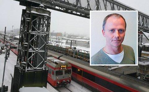 KØ: – Problemet i dagens plan er køkjøring inn mot Oslo i morgenrush og inn mot Ski i ettermiddagsrush, mener Jon Hamre.