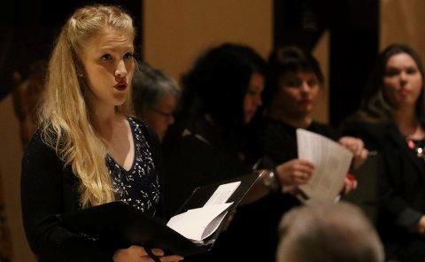 IMPONERTE: Ida Kristin Kilen imponerte stort med sin sang.