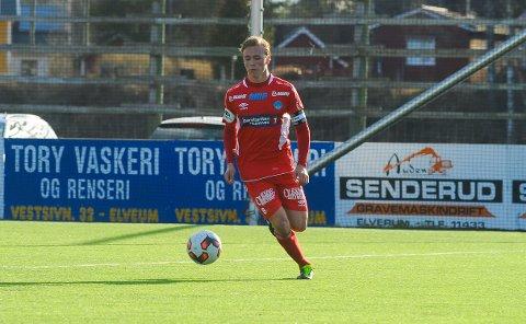FORNØYD: Martin Skjelbreid Ellingsen er fornøyd med å få Brattvåg i fjerde runde i cupen. (Foto: Kjell Arne Fridtun)