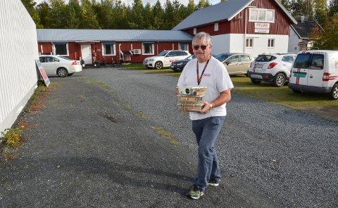 Tor Harald Svendsen, hovedaksjonær og daglig leder i A1 Pelias Norsk Skadedyrkontroll DA i Elverum. September 2016.