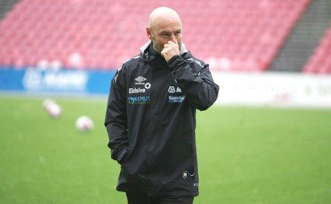 FERDIG: Mark Dempsey har allerede flyttet tilbake til England.