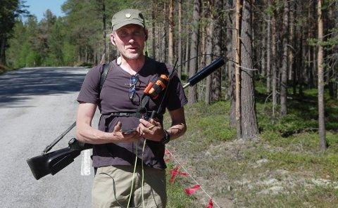 FELLINGLEDER: Jo Esten Trøan fra Tolga. Foto: Tonje Hovensjø Løkken