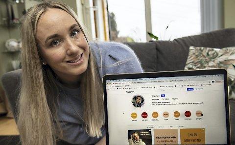 INSTAKJENDIS: Pengesparing er blitt en hobby for Ingeborg Bern Egeland (31). Nå        inspirerer hun andre til det samme via kontoen @gjeldsfri på Instagram. Foto: Marit Hommedal, NTB