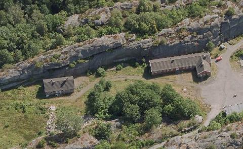 FRITIDSBOLIGER: Her, i nedre leir på Torås, vil eieren bygge tre fritidsboliger på litt lengre sikt. Derfor søker han om å få bruksendret området fra LNF til fritidsbebyggelse.