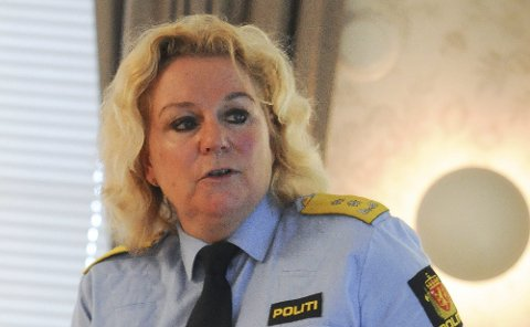 Betyr ikke noe: Christine Fossen tilbakeviser at det betyr noe hvor politimestrene kommer fra.