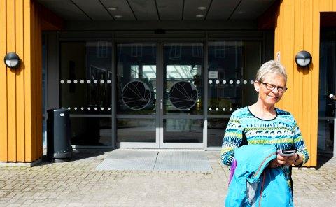 Berit Sørensen eksamensvakt