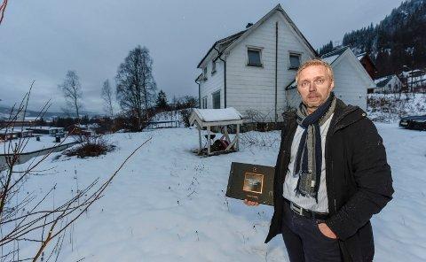 Gisle Kallestad er den eiendomsmegleren i Rana med høyest inntekt i 2017. Dette bildet er tatt da han jobbet i Privatmegleren.