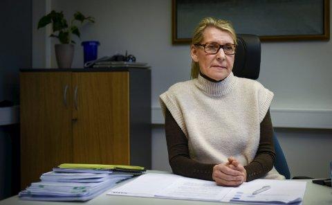 Hulda Gunnlaugsdottir legger vekt på at flere fra ledelsen nå skal ha sin arbeidsplass ved sykehuset i Sandnessjøen, og legger opp til at hun som administrerende direktør skal gå fra en til to kontordager i hovedsykehuset.