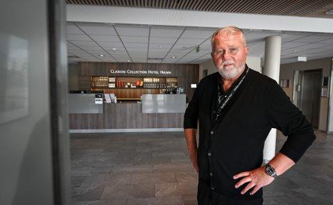 - Årets juli er tidenes beste sommermåned for oss, sier hotelldirektør Dag Busch ved Clarion Collection Hotel Helma.