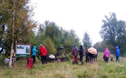 Åpning av turstien til Sjonfjellgården.